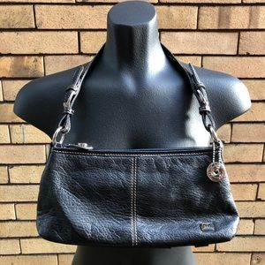 The Sak small black leather bag